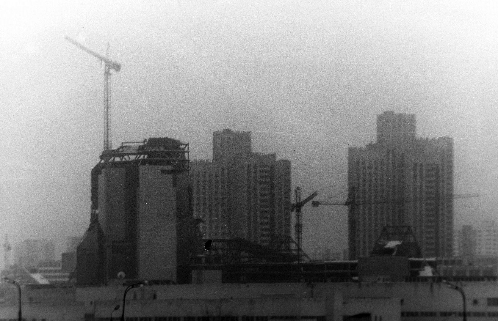 Строительство Делового центра Зенит, архивный снимок