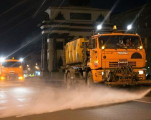 промывка дорог
