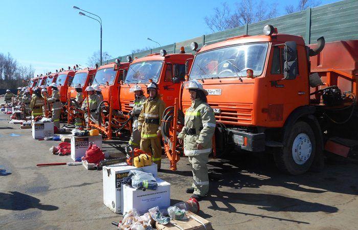 Бригады добровольных пожарных дружин