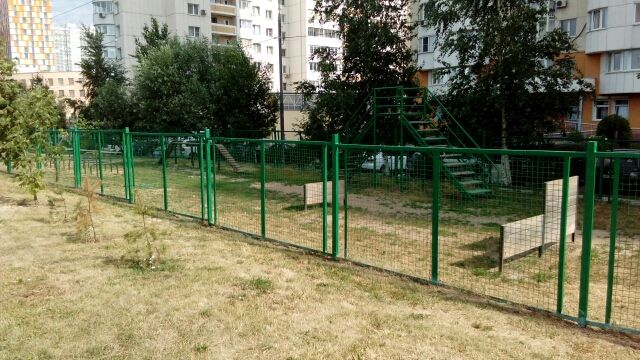 площадка для выгула собак