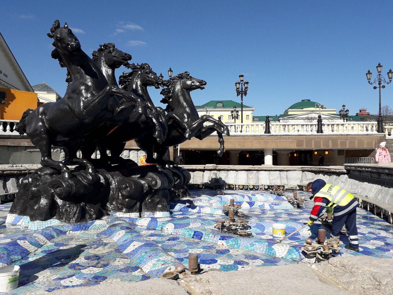 фонтан «Времена года»