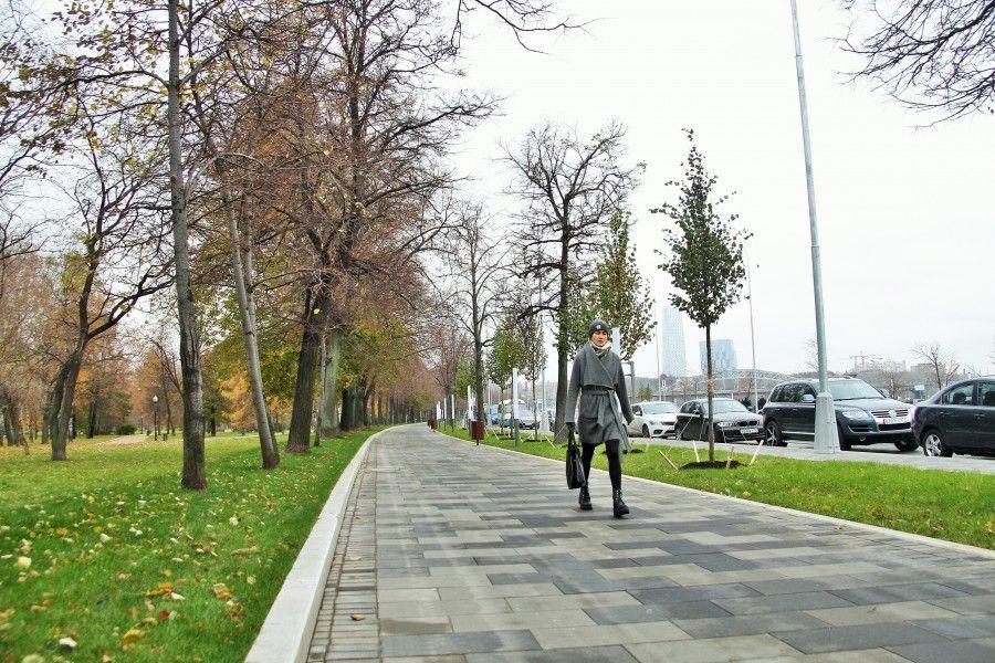 лианозово пешеходная зона