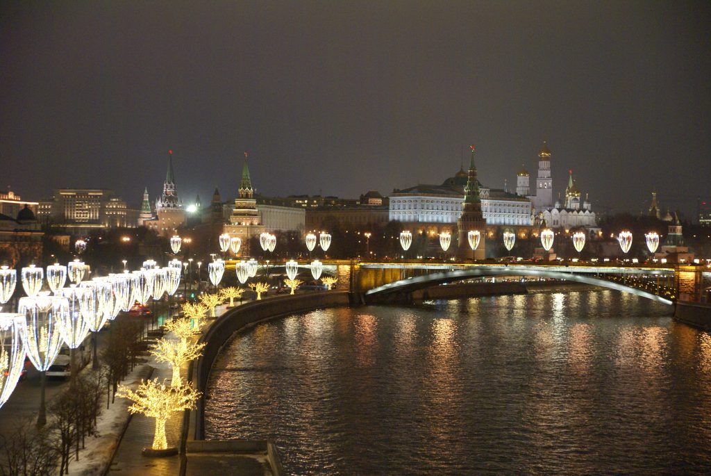 фонари кремль