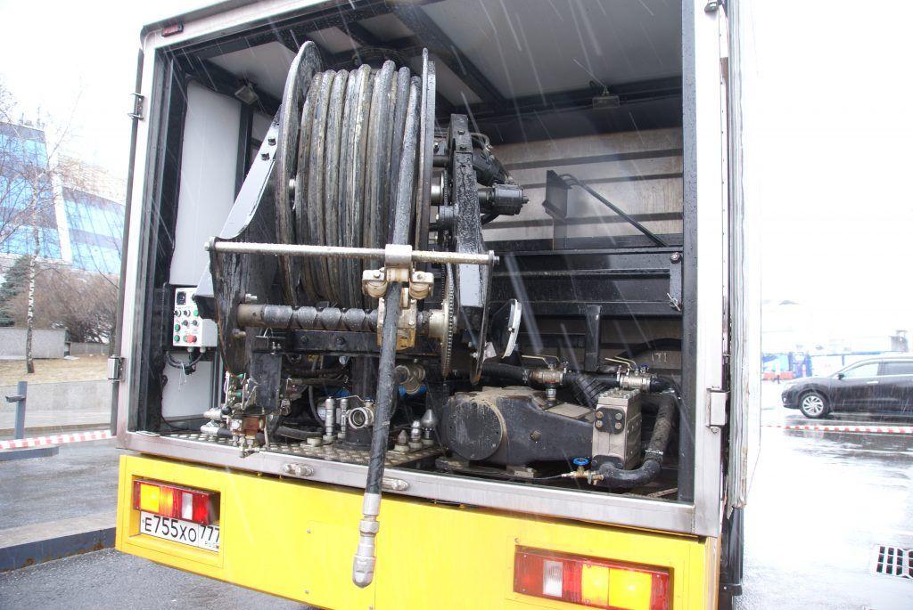 очистка дренажных систем коллекторов