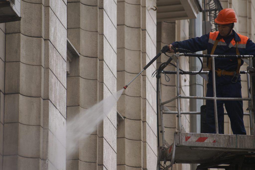 промывка фасадов