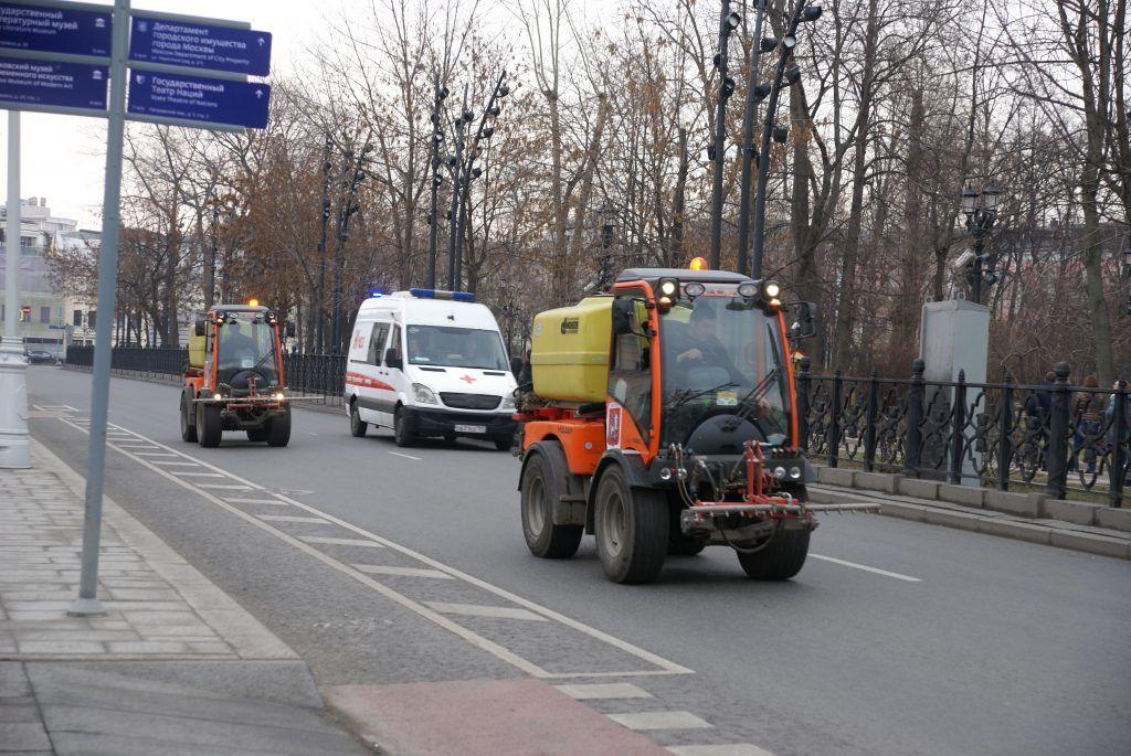 уборка Москвы