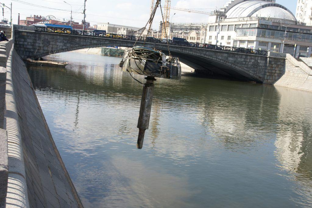 установка плавающих фонтанов мост монтаж оборудование