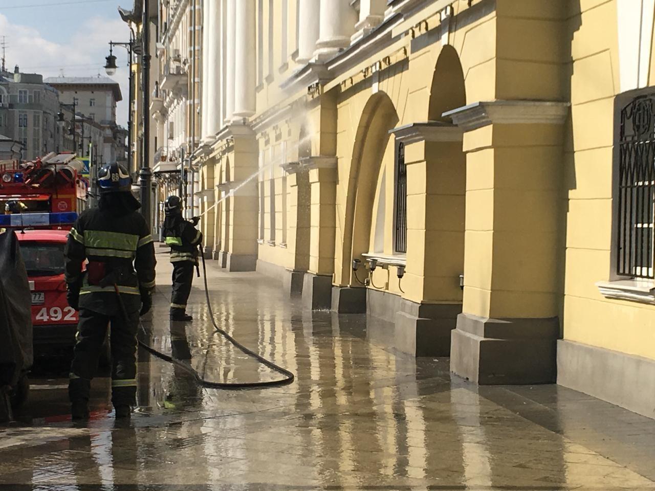 промывка фасада