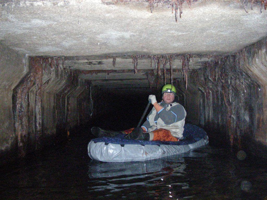 подземная речка Жабинка