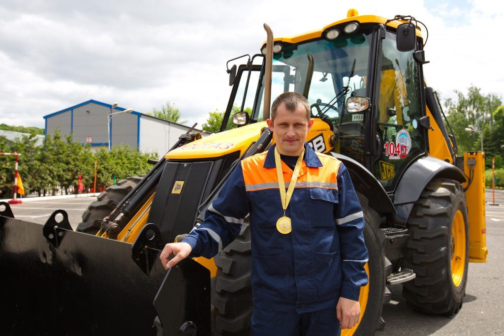 Евгений Колодочкин, машинист экскаватора транспортной колонны № 3