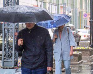 дождь и порывистый ветер
