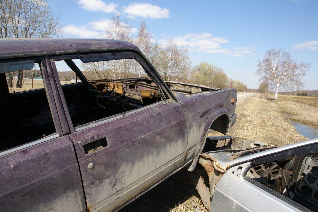 авария разбитая машина