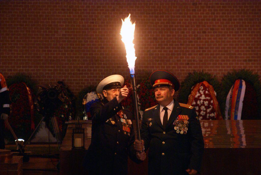 Николай Васильевич Морозов вечный огонь