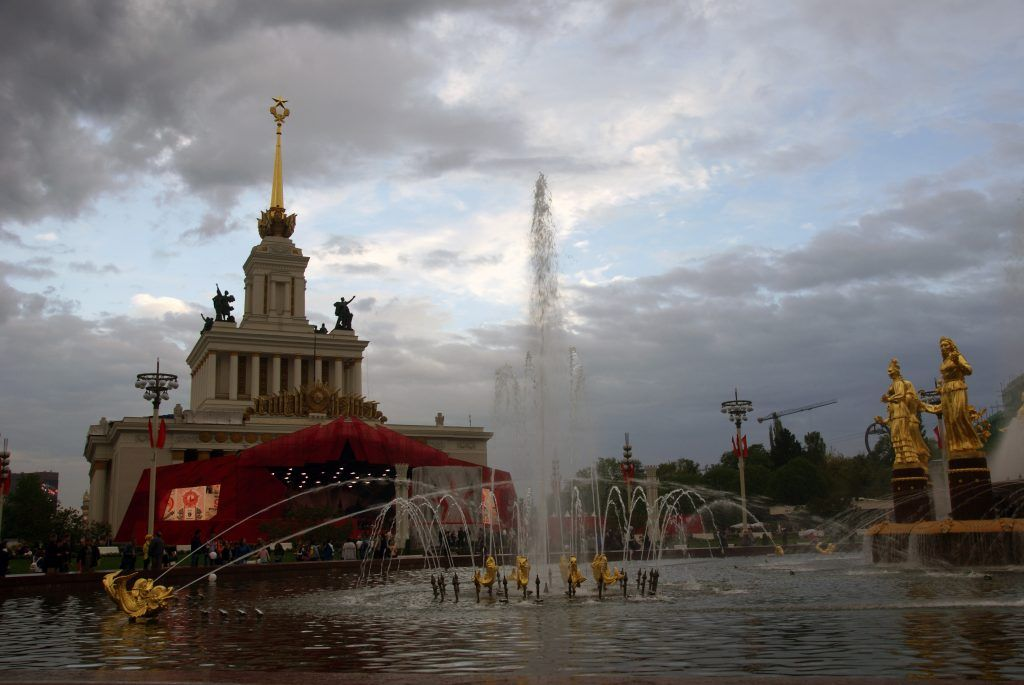 9 мая день победы вднх фонтан