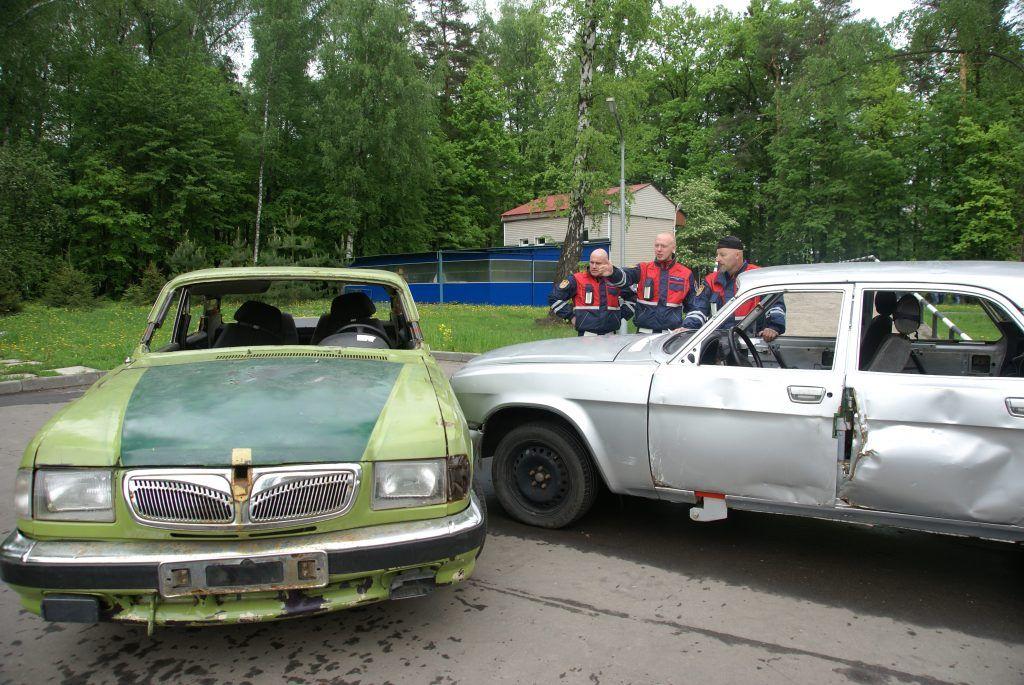 машины авария