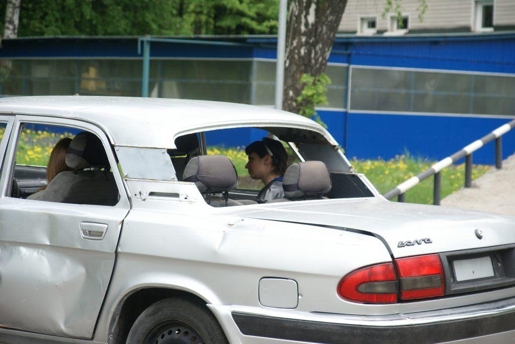 машина пострадавшие