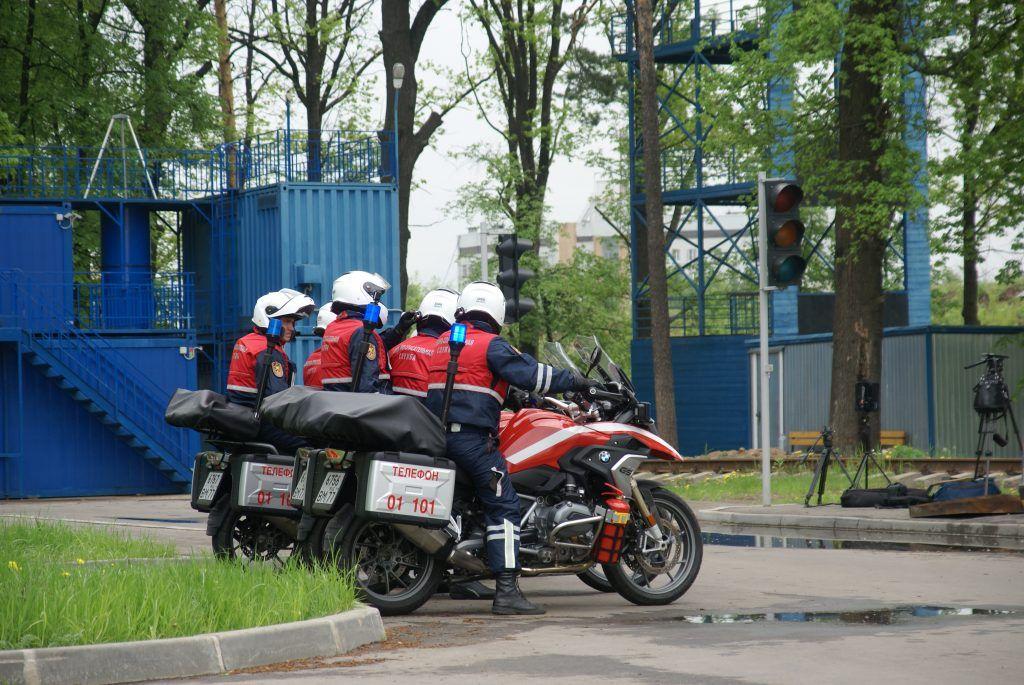 мото-спасатели