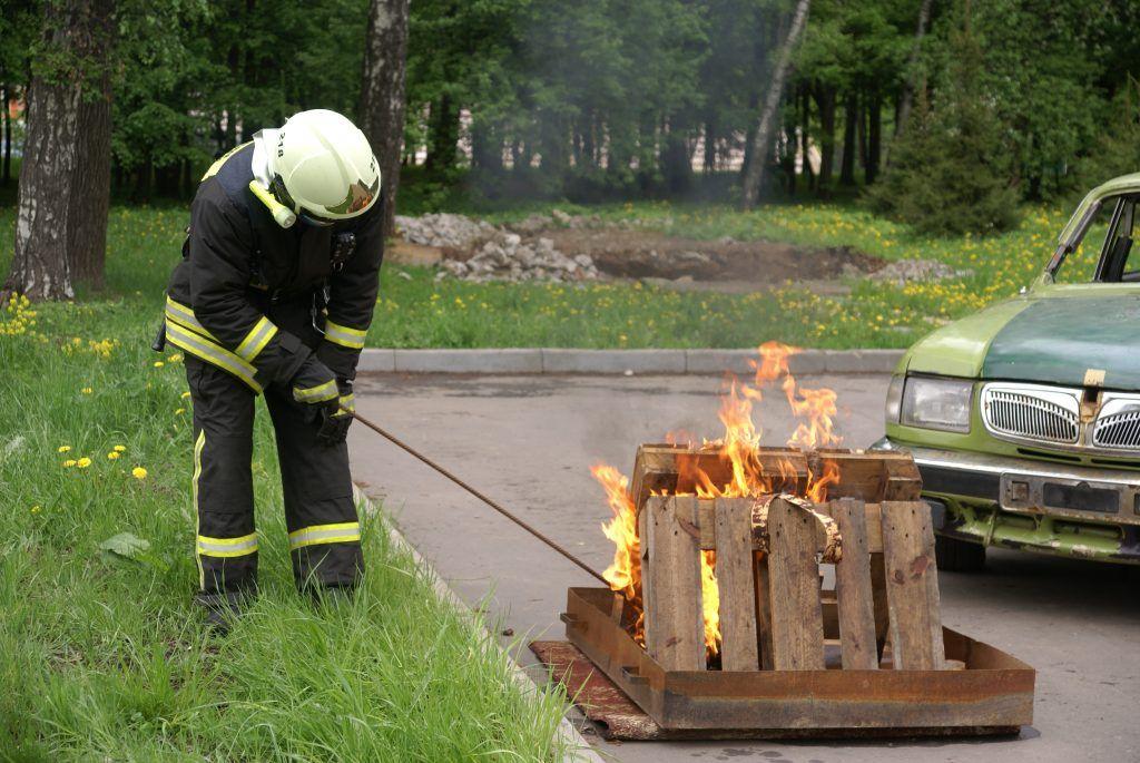 пожарный пожар машина