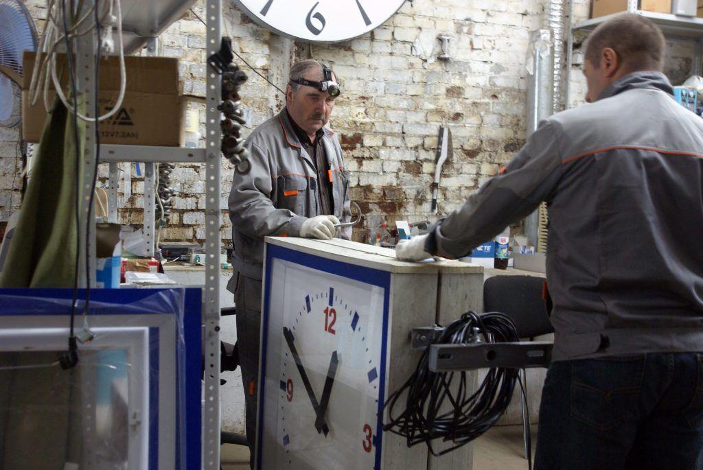 мастерская часы электрики