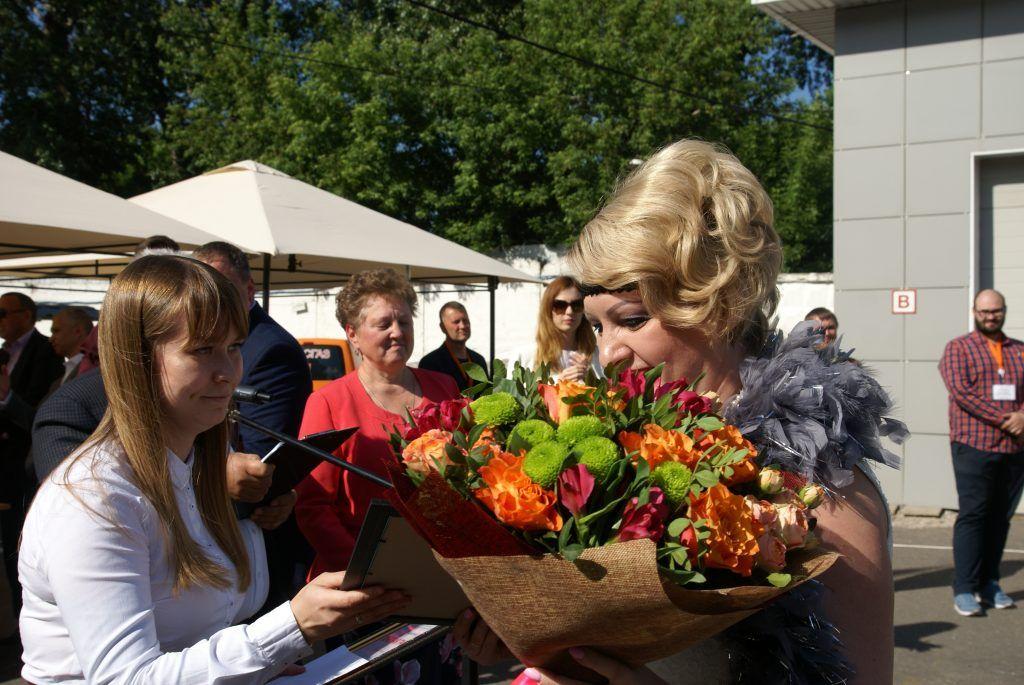 АО Мосгаз грамоты конкурс автоледи цветы