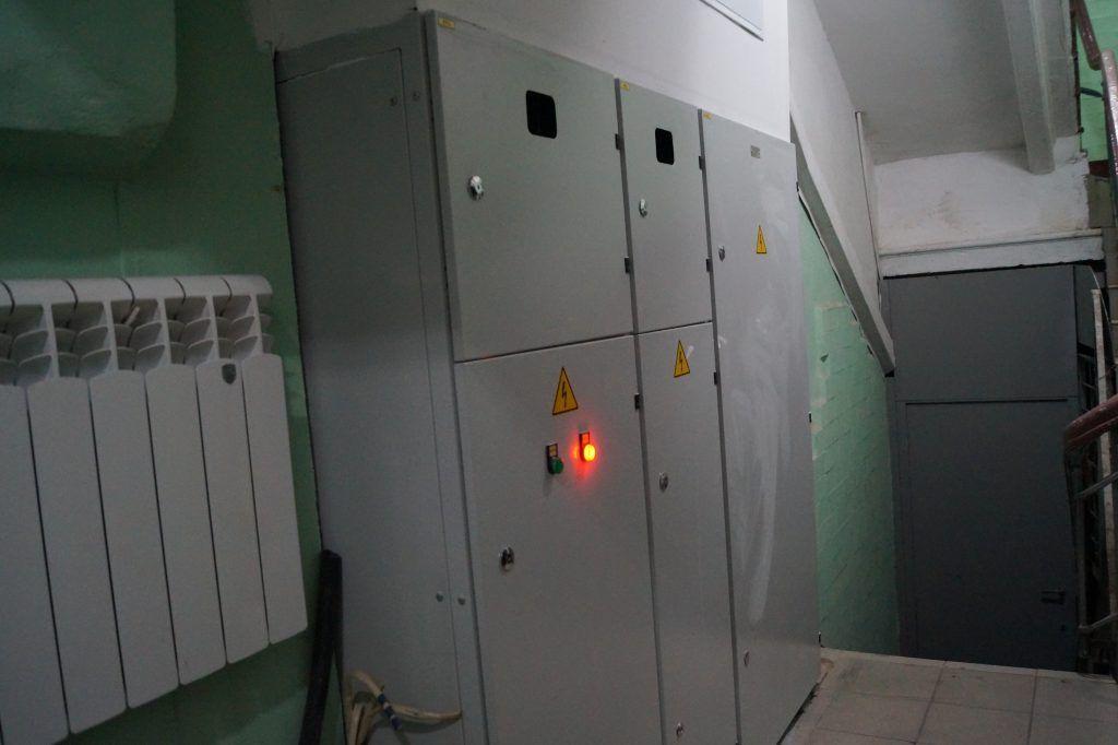 заменена система электричества.