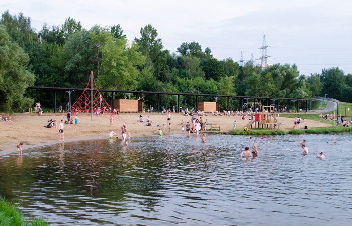 зона отдыха пляж