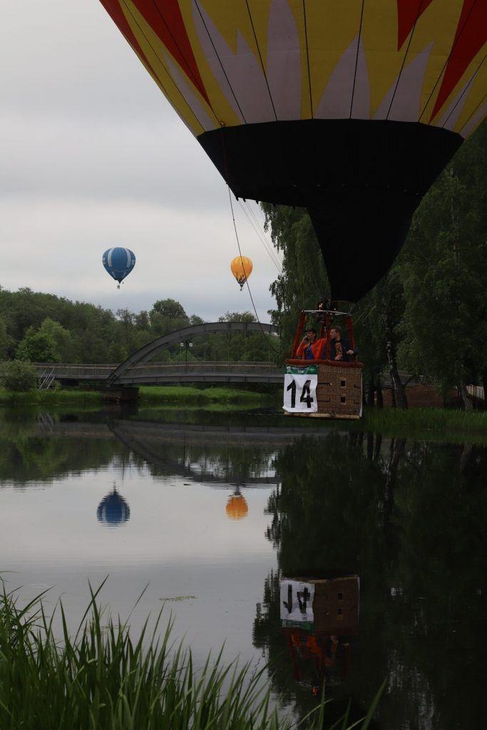 воздушые шары Спортсмен-аэронавт
