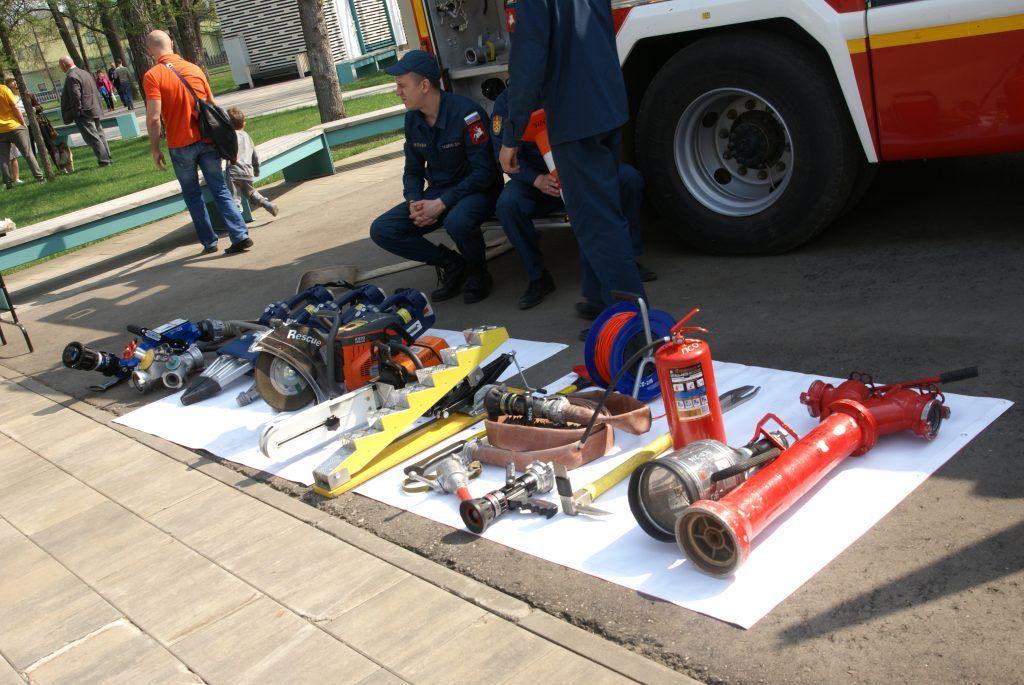 пожарно-спасательное оборудование