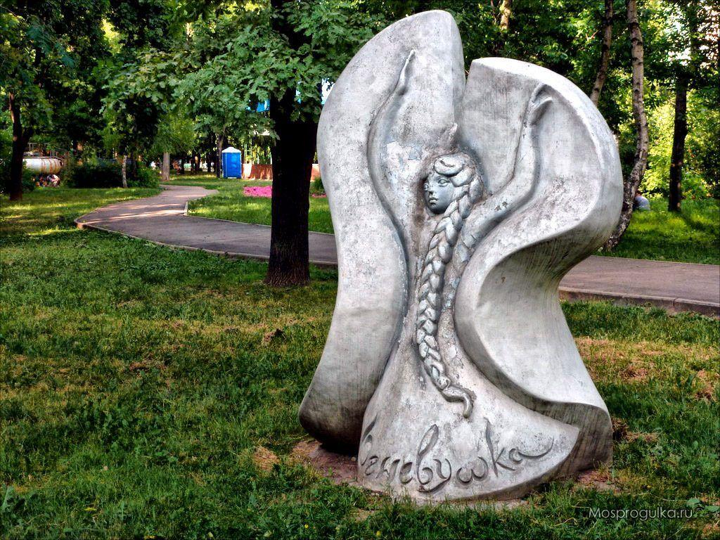 скульптуры персонажей из уральских сказов