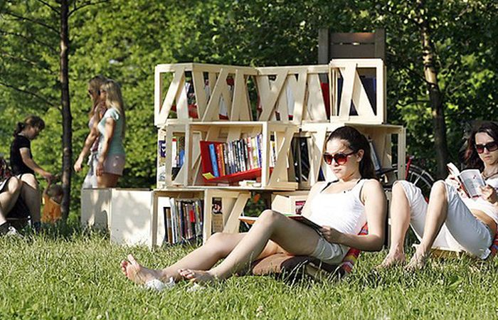 библиотека в парках