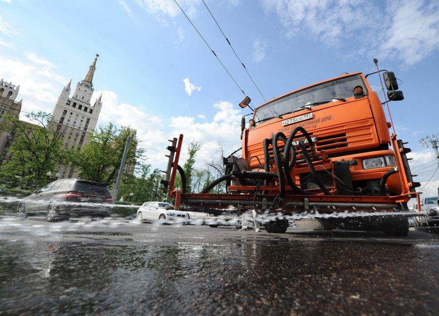 жара лето в Москве
