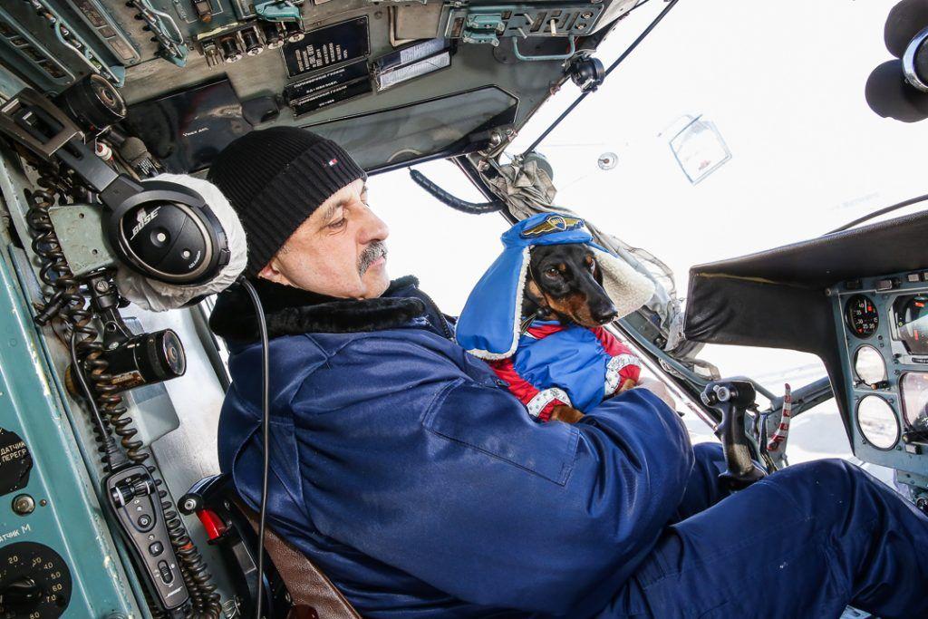 собака Маруся спасатели вертолет
