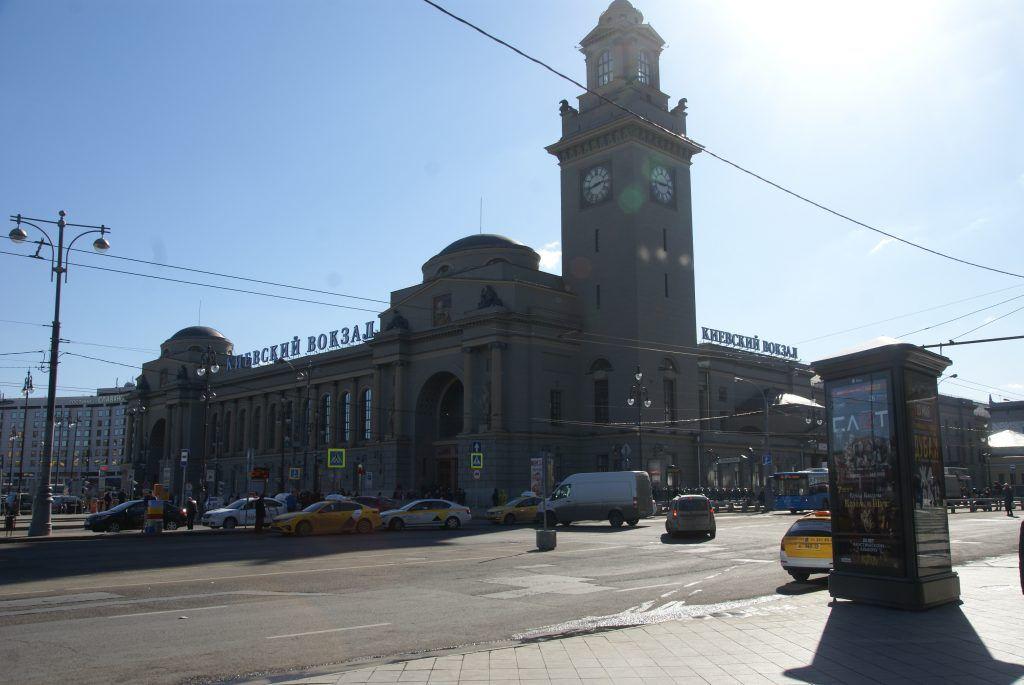 территория Киевского вокзала благоустройство Киевский вокзал