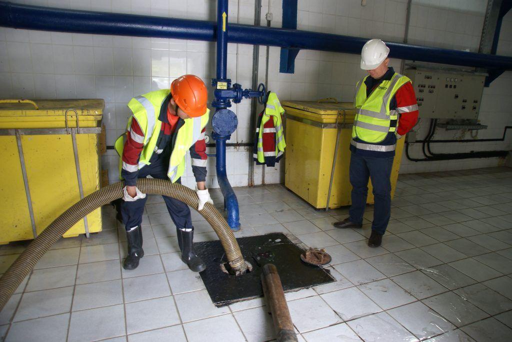 ГБУ «Гормост» илосирование рабочие помещение зумпф