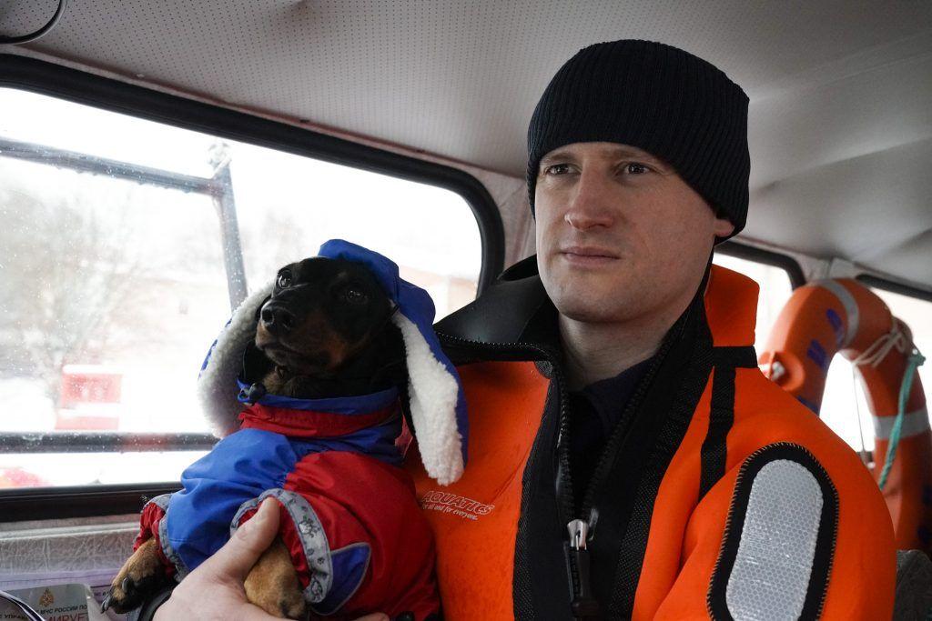 собака Маруся спасатель