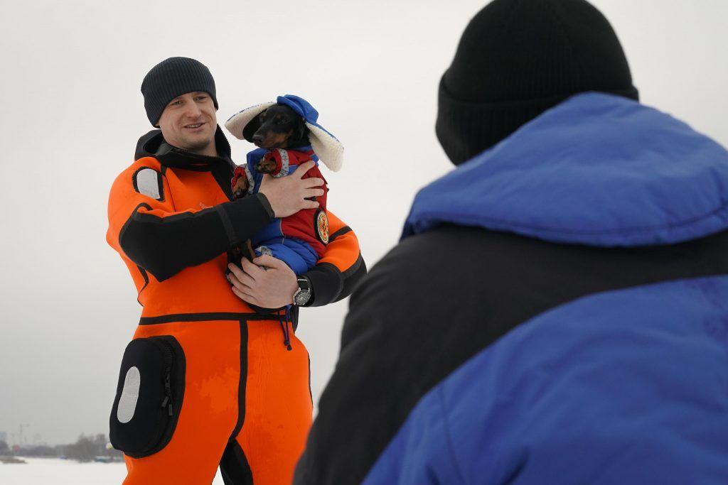 собака Маруся спасатели