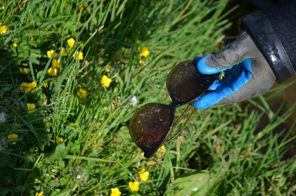 Тимирязевский парк Большой садовый пруд очки