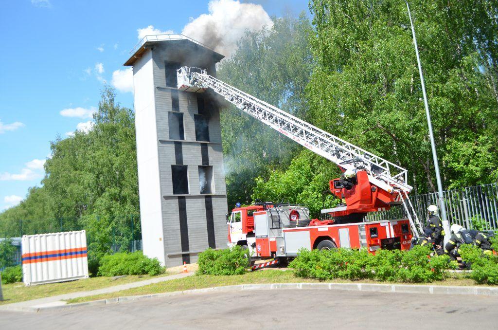 пожар спасение пожарные