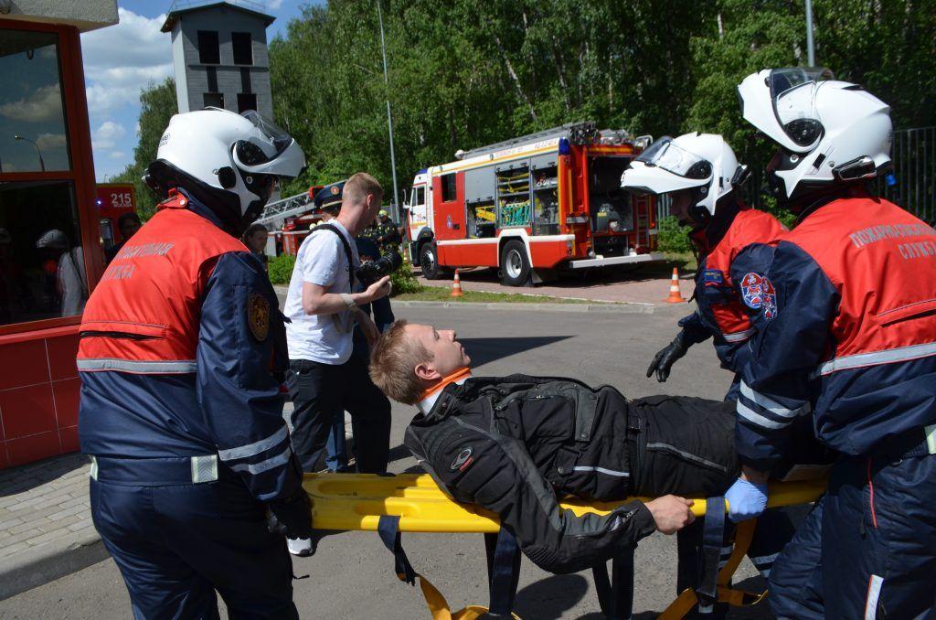 ДТП спасатели пострадавший