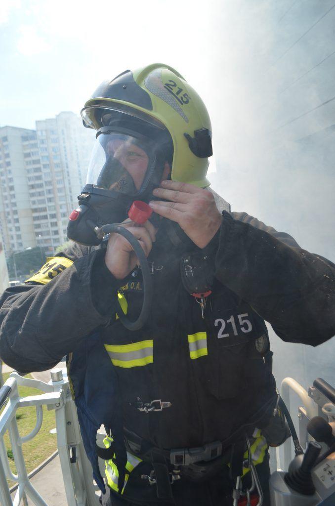 пожар спасение пожарный
