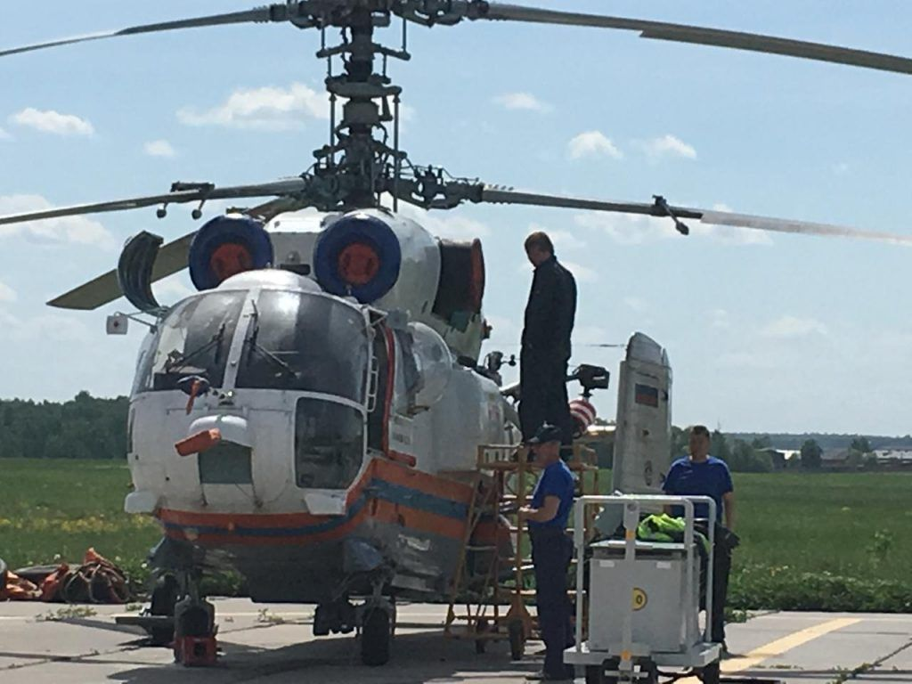 техники вертолет