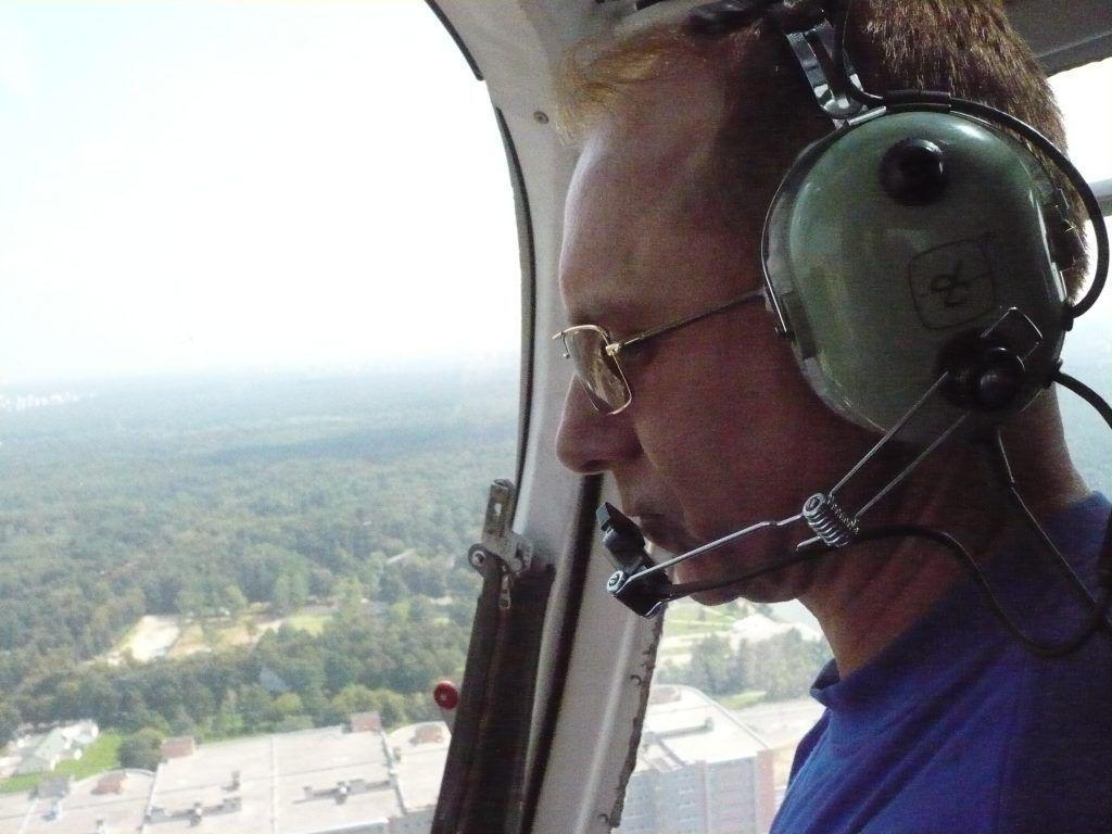 кабина вертолета спасатель