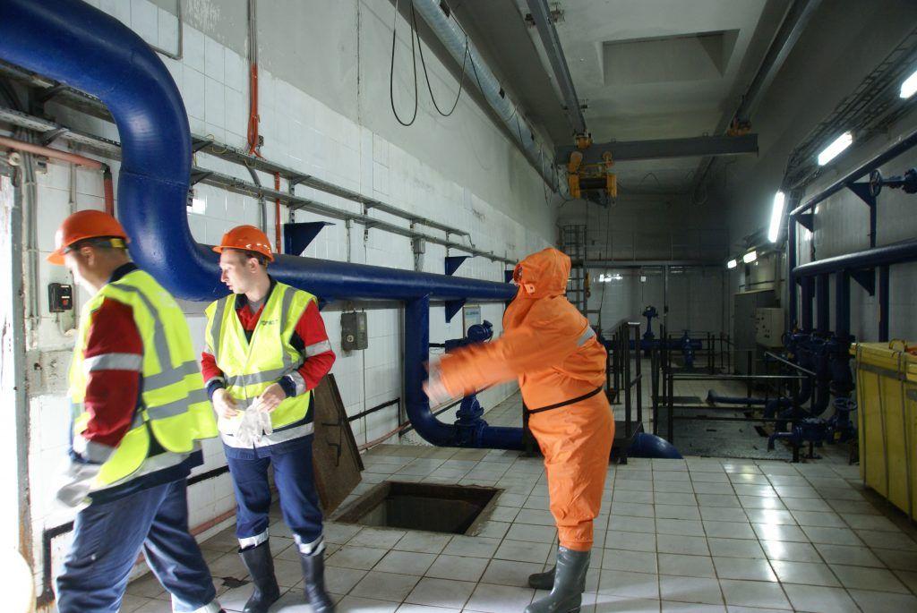 ГБУ «Гормост» илосирование рабочие непромокаемый костюм