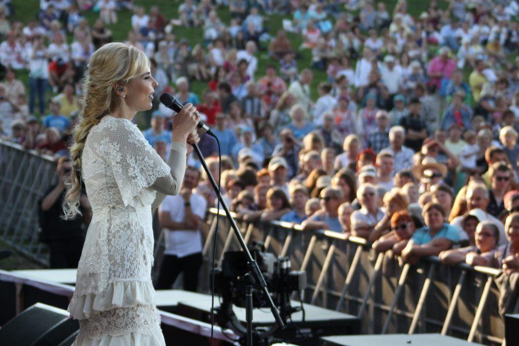 фестиваль Русское поле Пелагея