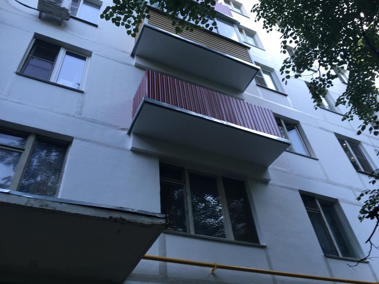 капремонт дом балкон