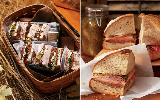 бутерброд пикник на природе лето в Москве