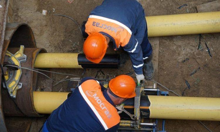 МОСГАЗ, газопровод