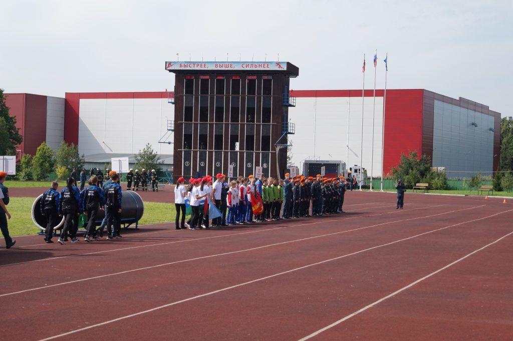 школа безопасности, соревнования, Апаринки, участники