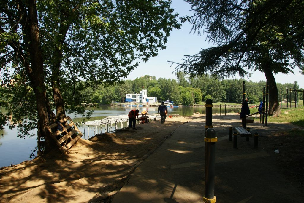 усадьба Люблино благоустройство и озеленение парка «Усадьба Люблино» воркаут-площадка