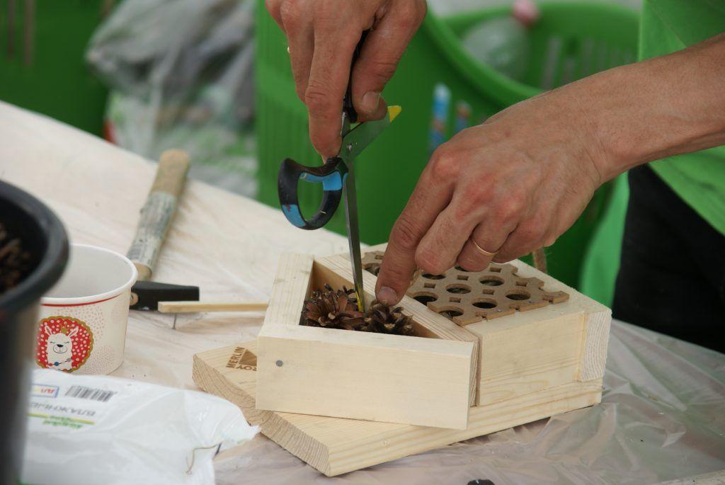 день эколога Мосприрода поделки стройматериалы
